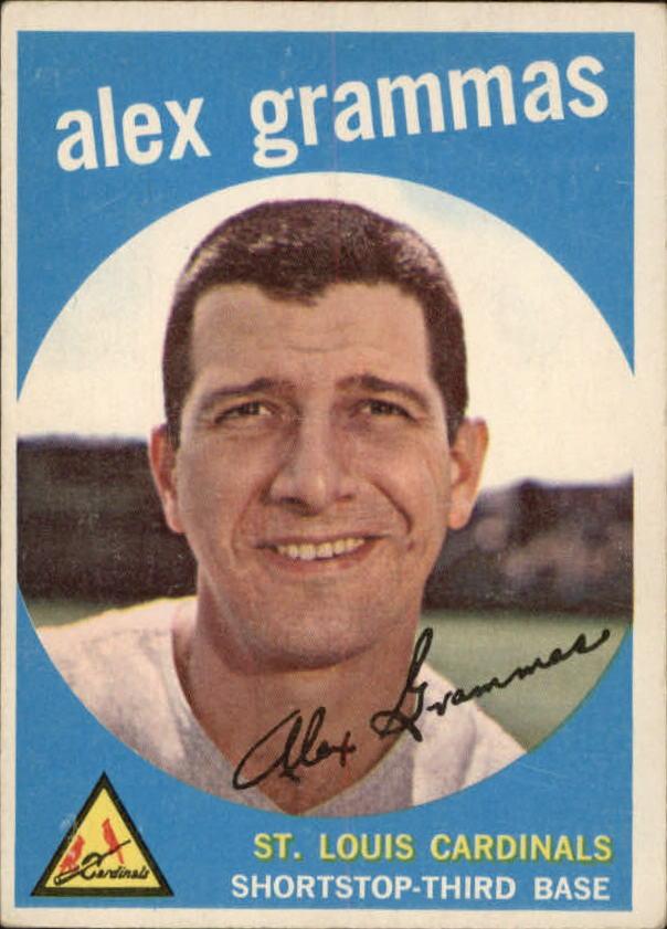 1959 Topps #6 Alex Grammas