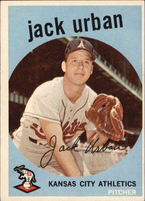 1959 Topps #18 Jack Urban