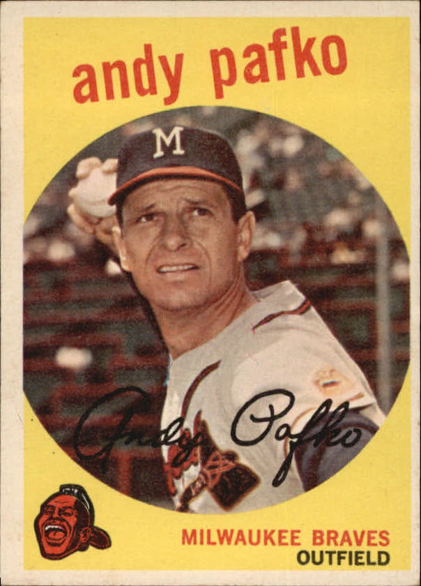 1959 Topps #27 Andy Pafko