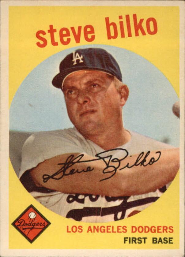 1959 Topps #43 Steve Bilko