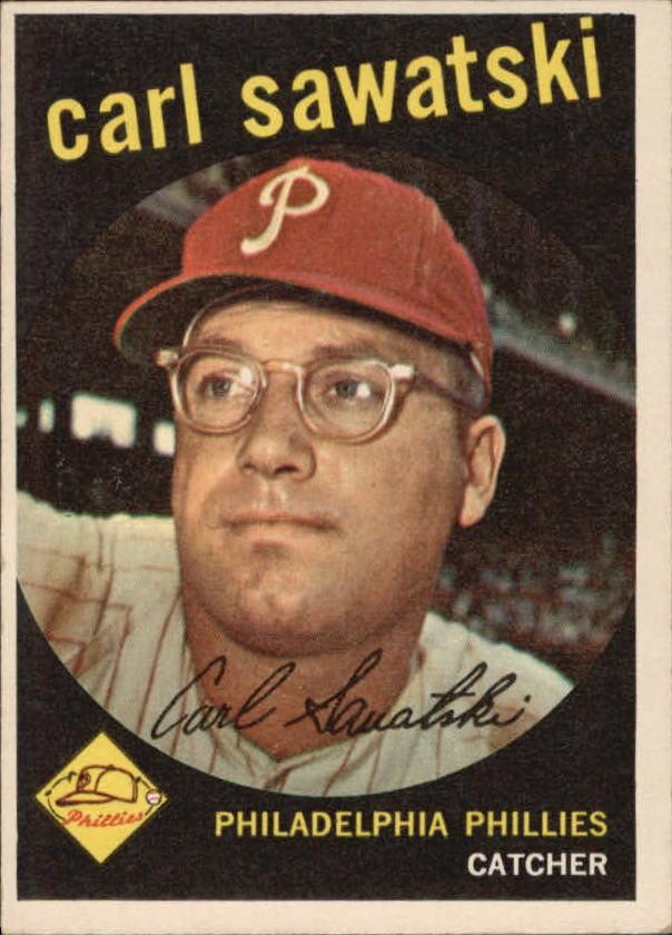 1959 Topps #56 Carl Sawatski