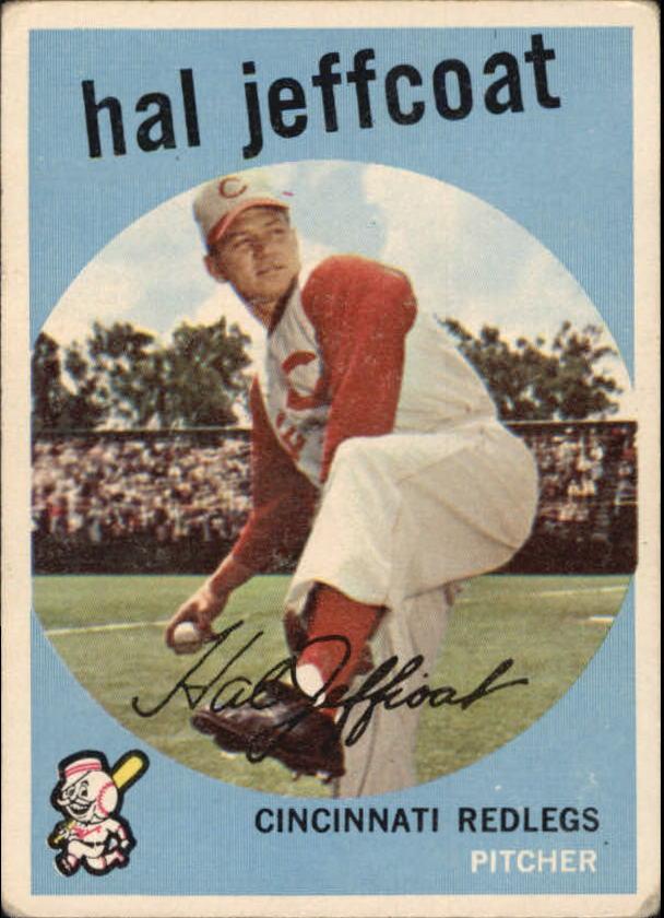 1959 Topps #81 Hal Jeffcoat