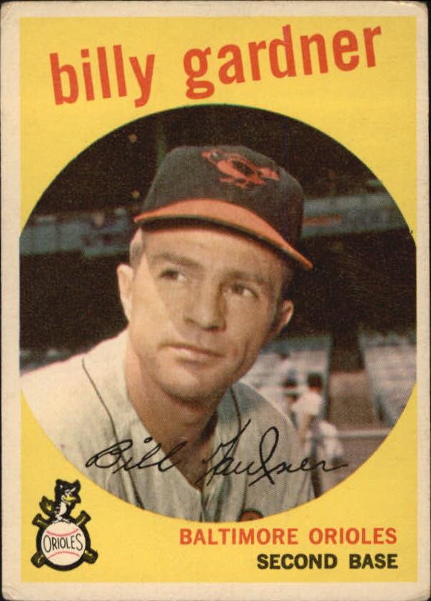 1959 Topps #89 Billy Gardner