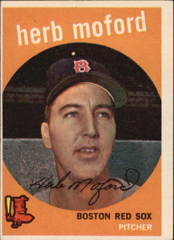 1959 Topps #91 Herb Moford RC