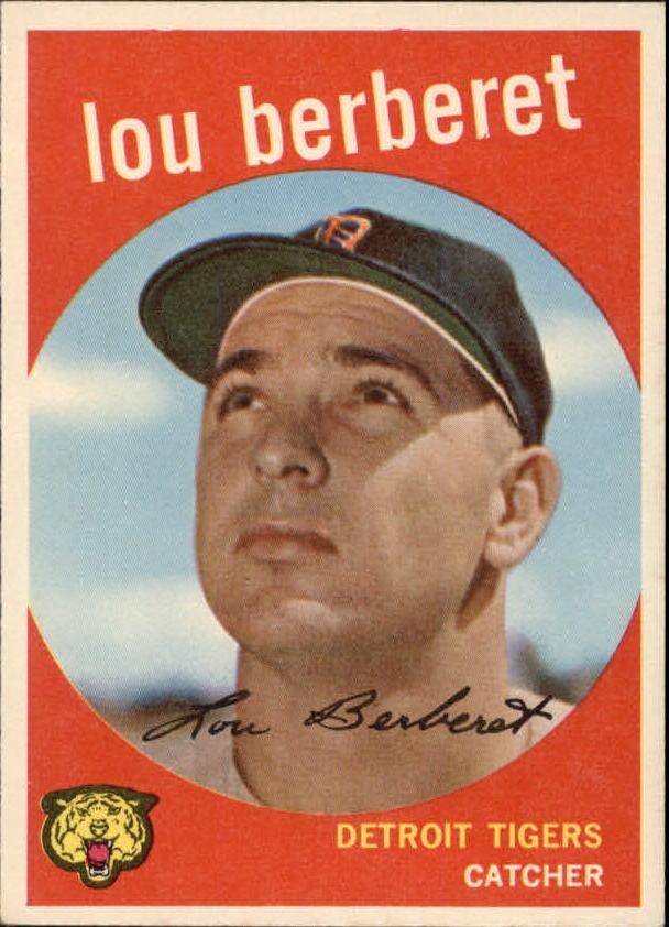 1959 Topps #96 Lou Berberet