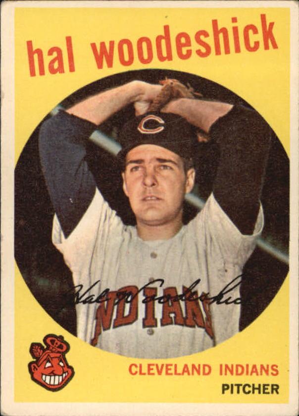 1959 Topps #106 Hal Woodeshick RC
