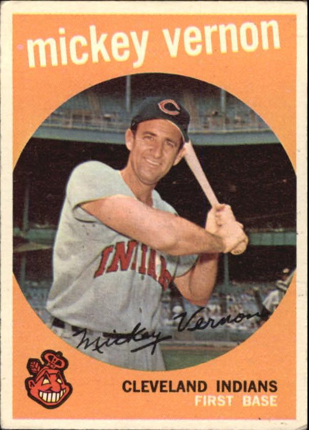 1959 Topps #115 Mickey Vernon