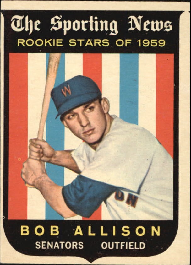 1959 Topps #116 Bob Allison RS RC