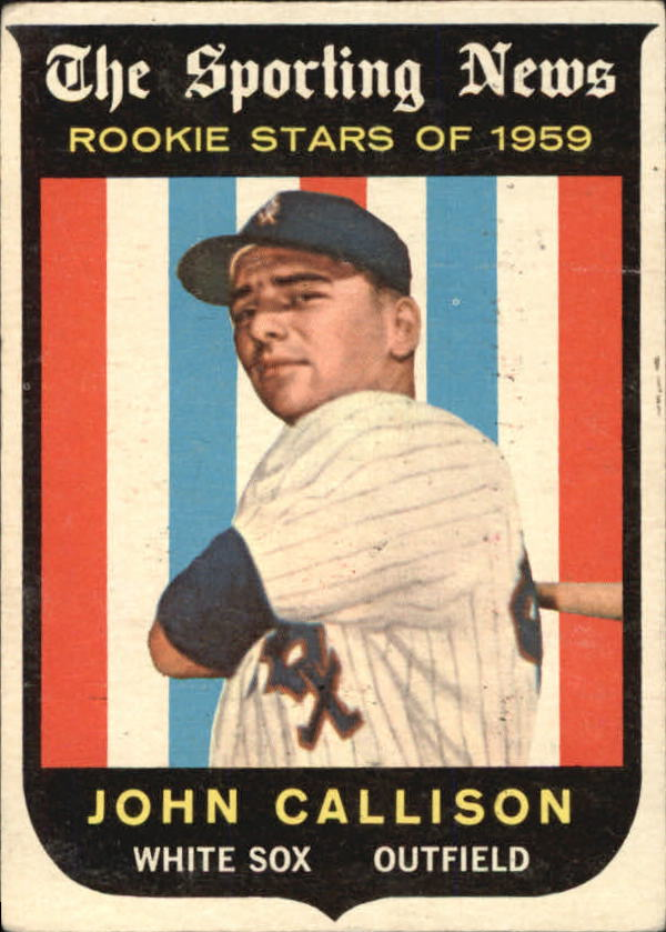 1959 Topps #119 Johnny Callison RS RC