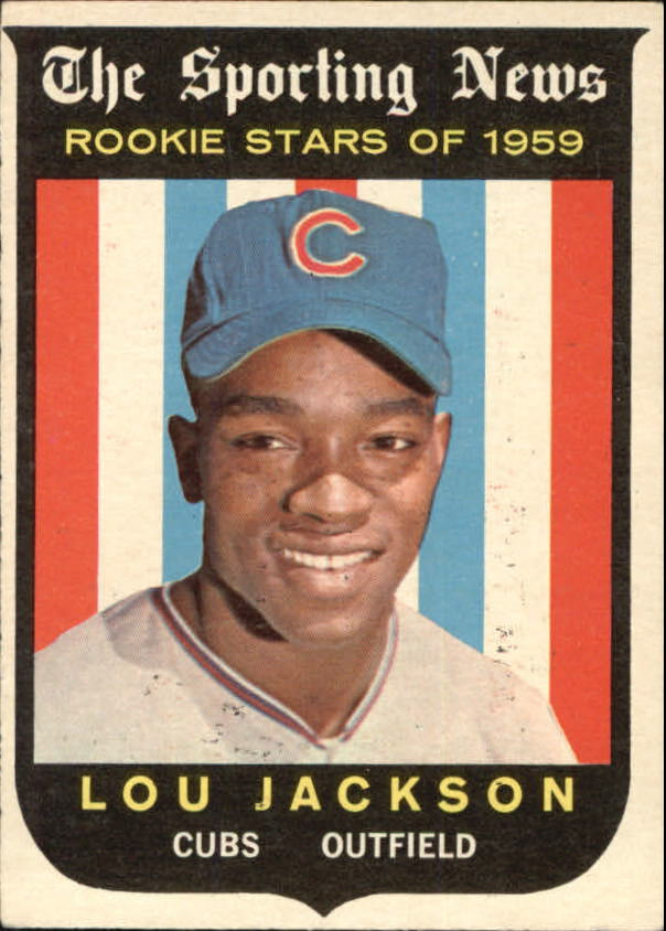 1959 Topps #130 Lou Jackson RS RC