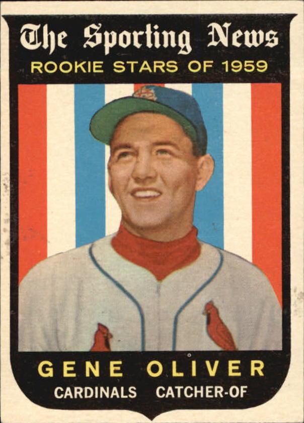 1959 Topps #135 Gene Oliver RS RC