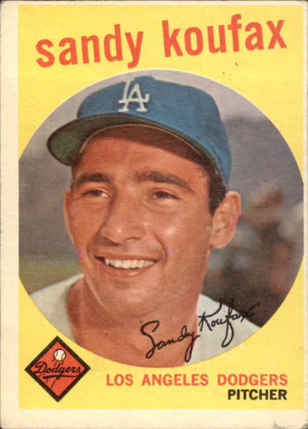 1959 Topps #163 Sandy Koufax