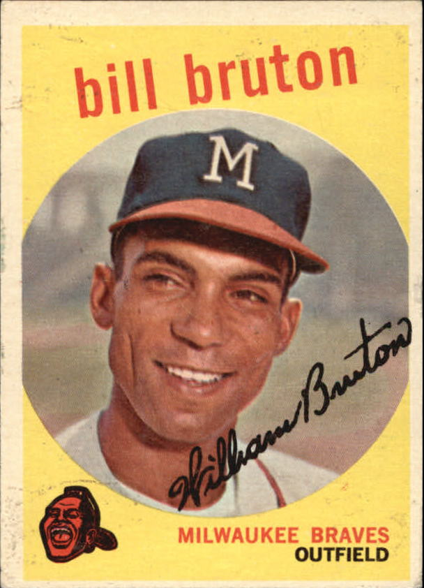 1959 Topps #165 Bill Bruton