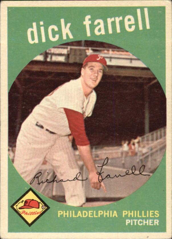 1959 Topps #175 Dick Farrell