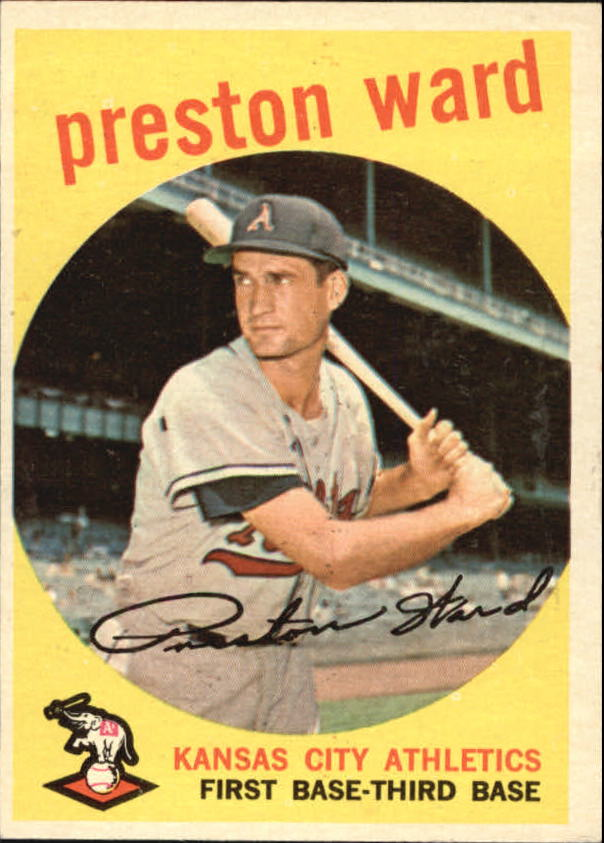 1959 Topps #176 Preston Ward