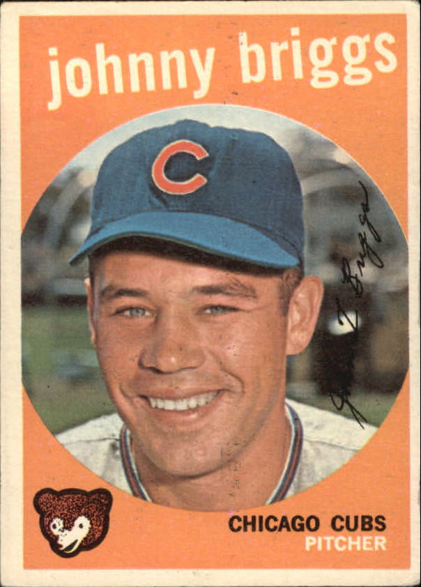 1959 Topps #177 John Briggs RC