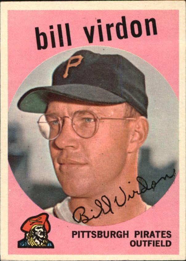 1959 Topps #190 Bill Virdon