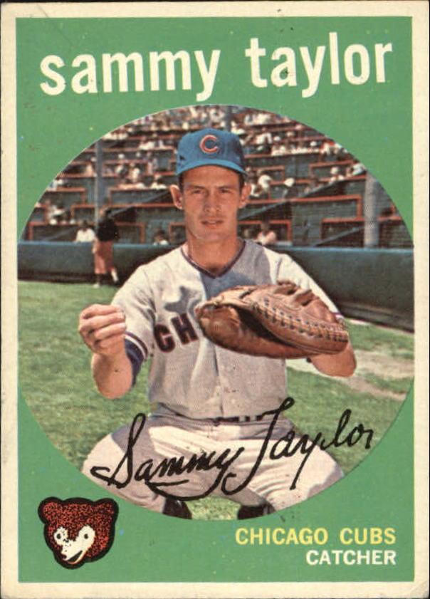 1959 Topps #193 Sammy Taylor