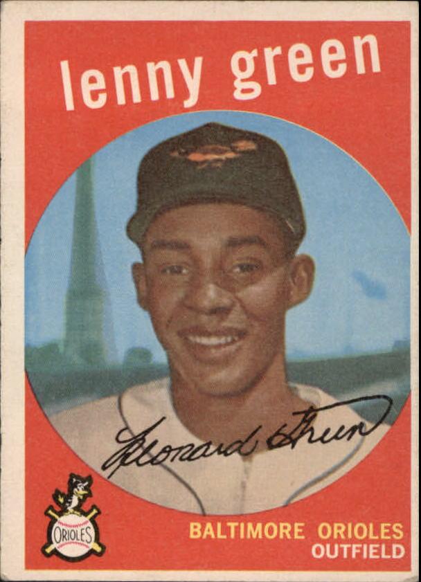 1959 Topps #209 Lenny Green