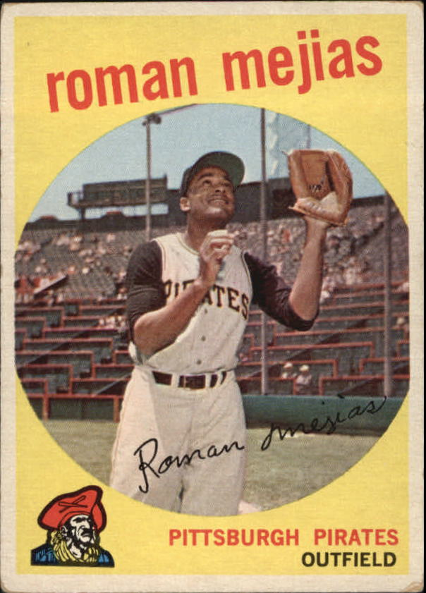 1959 Topps #218 Roman Mejias