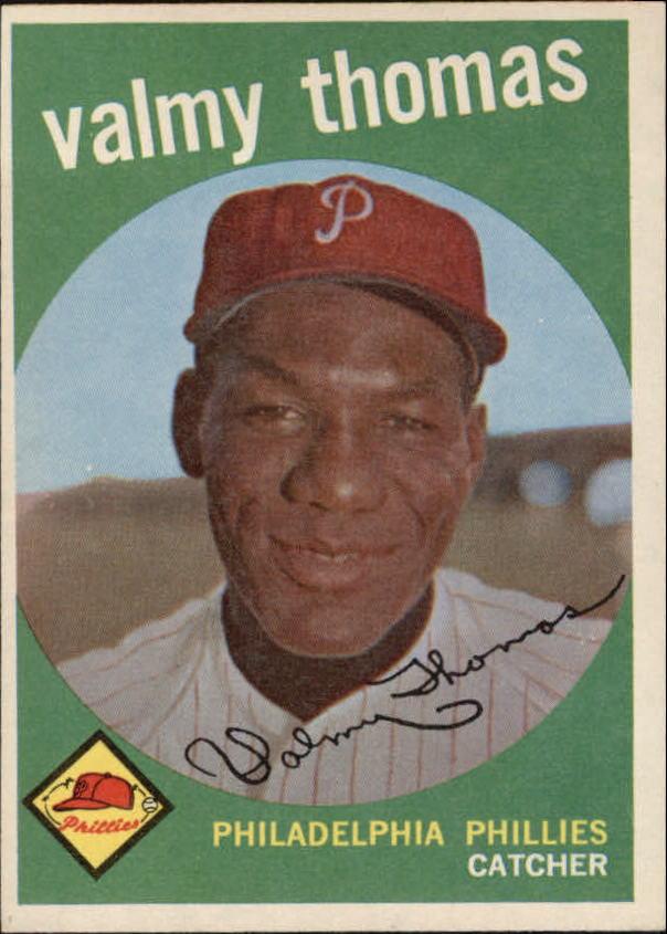 1959 Topps #235 Valmy Thomas