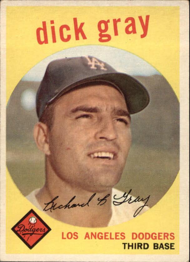 1959 Topps #244 Dick Gray