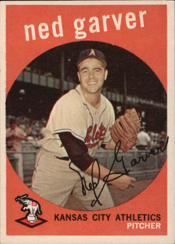 1959 Topps #245 Ned Garver
