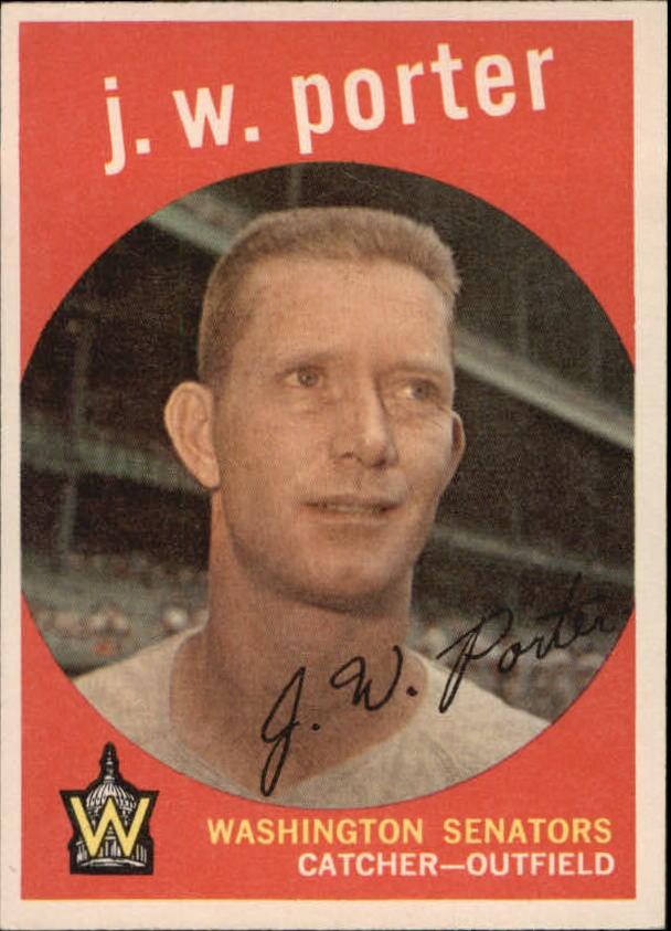 1959 Topps #246 J.W. Porter