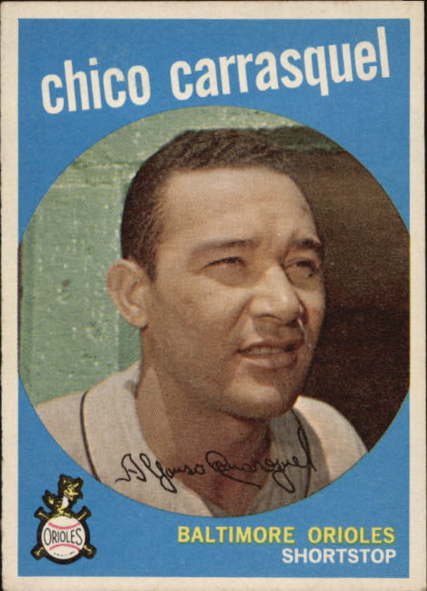 1959 Topps #264 Chico Carrasquel