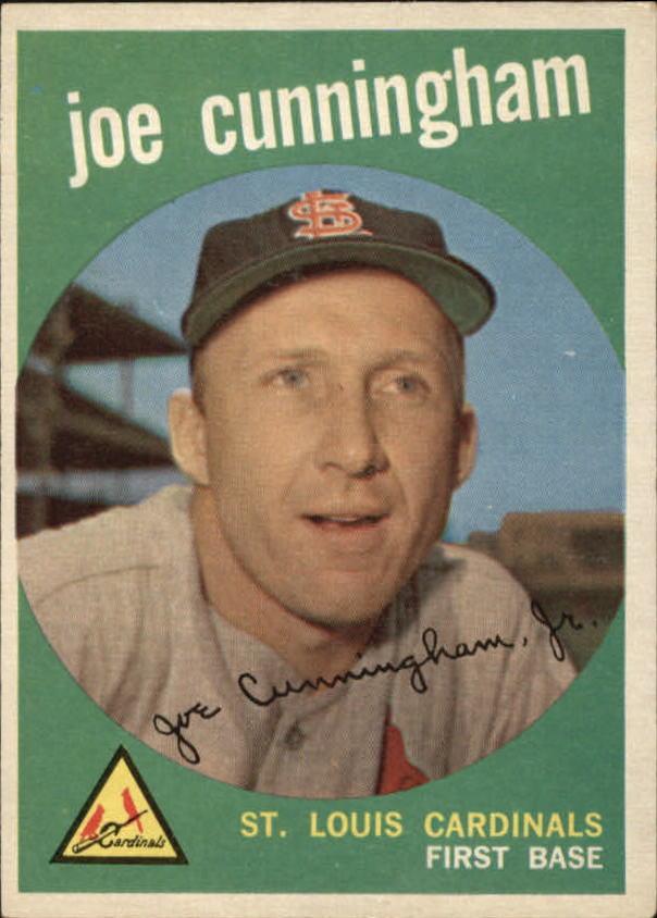 1959 Topps #285 Joe Cunningham