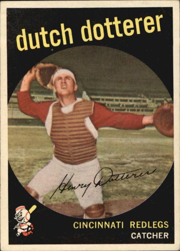 1959 Topps #288 Dutch Dotterer