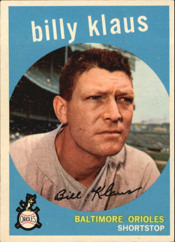 1959 Topps #299 Billy Klaus