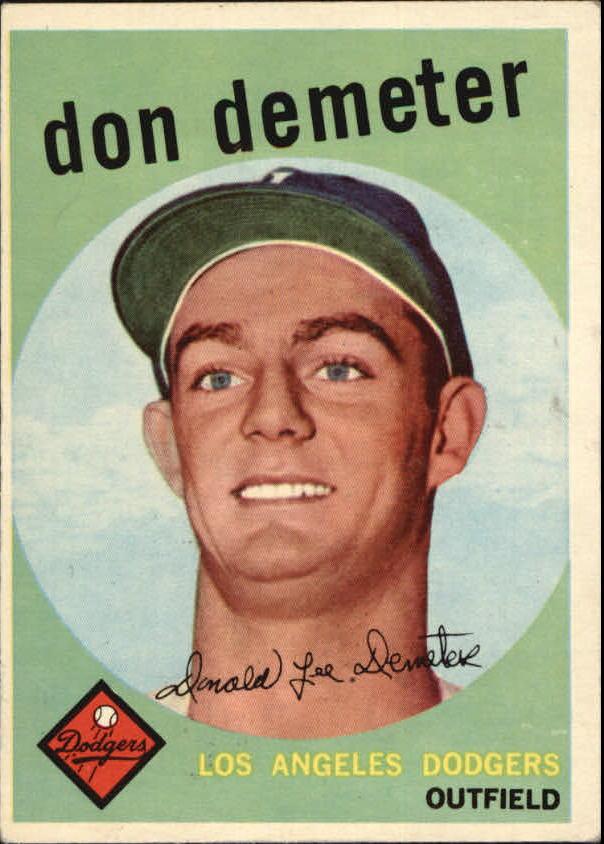 1959 Topps #324 Don Demeter