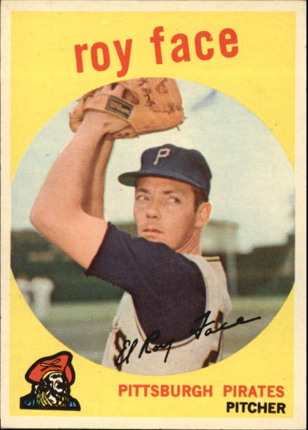 1959 Topps #339 Roy Face
