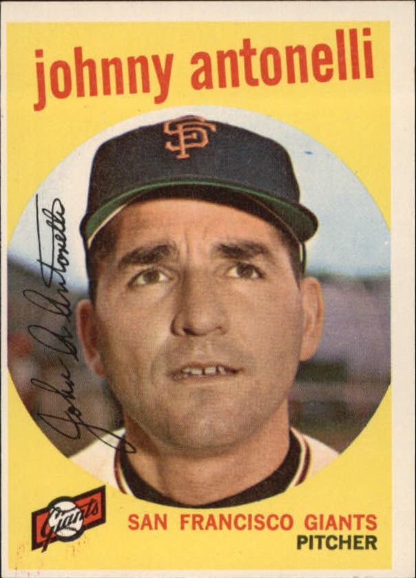 1959 Topps #377 John Antonelli