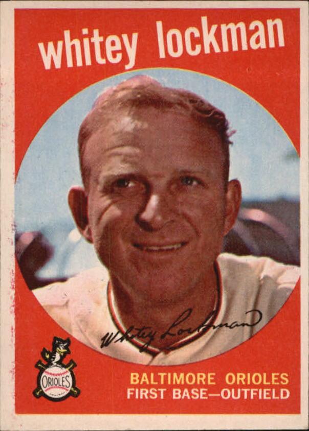 1959 Topps #411 Whitey Lockman