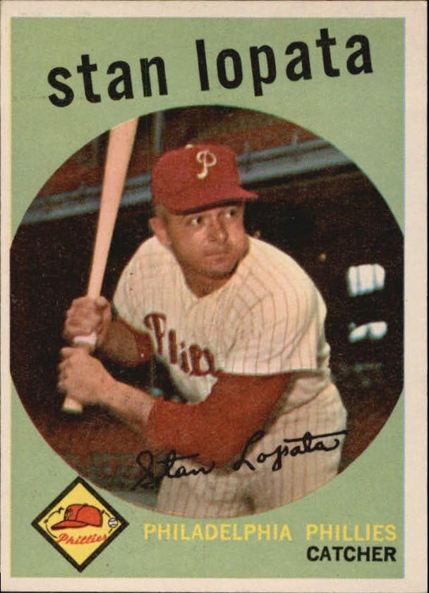 1959 Topps #412 Stan Lopata