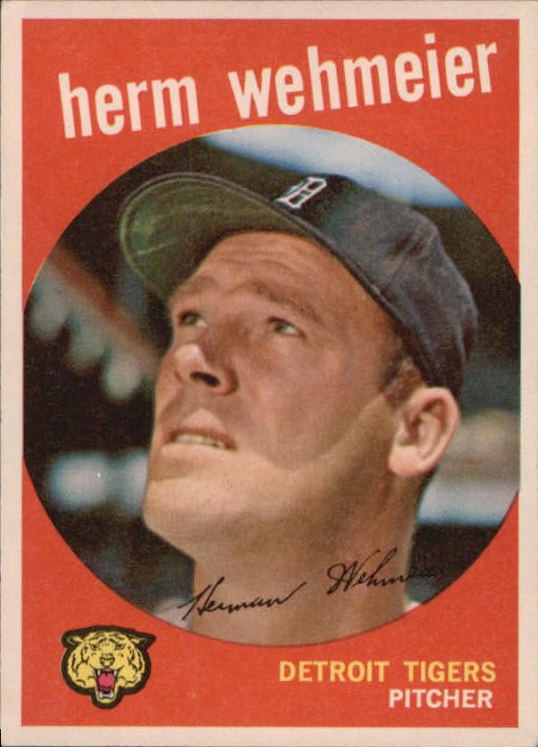 1959 Topps #421 Herman Wehmeier