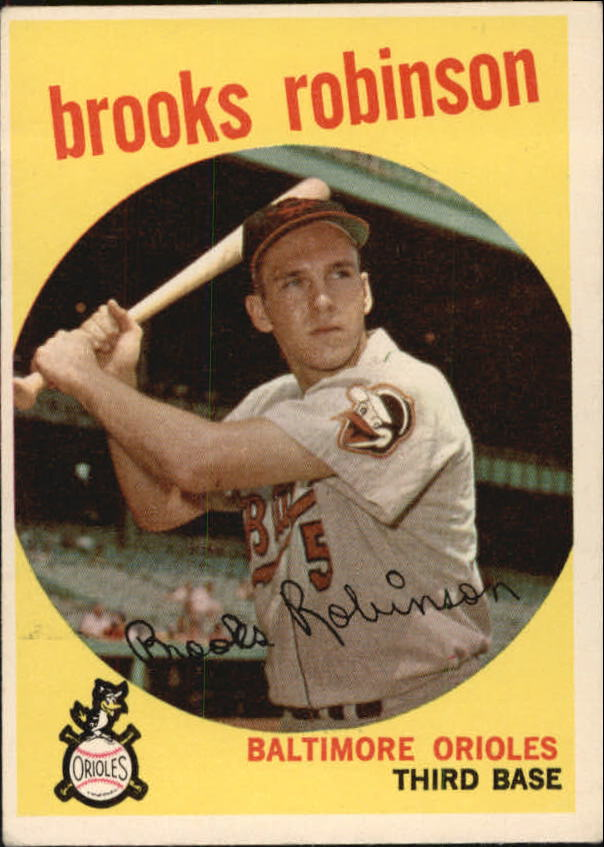 1959 Topps #439 Brooks Robinson