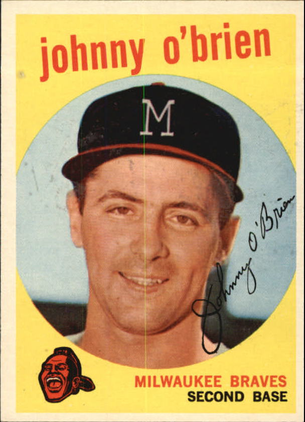 1959 Topps #499 Johnny O'Brien
