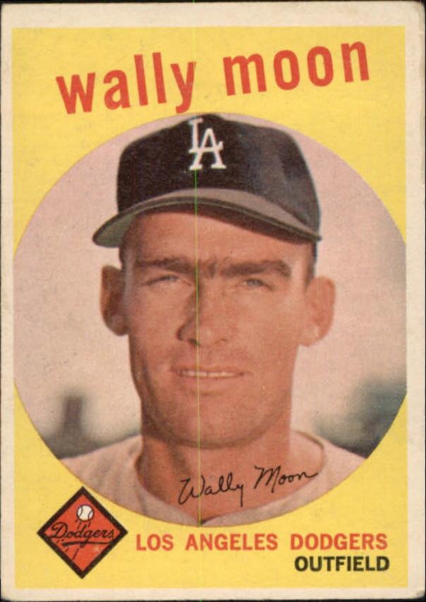 1959 Topps #530 Wally Moon