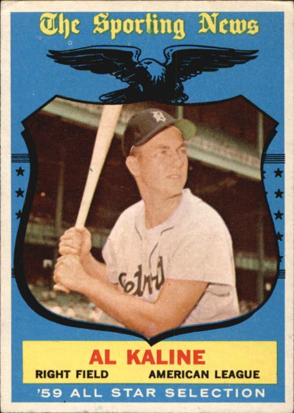 1959 Topps #562 Al Kaline AS