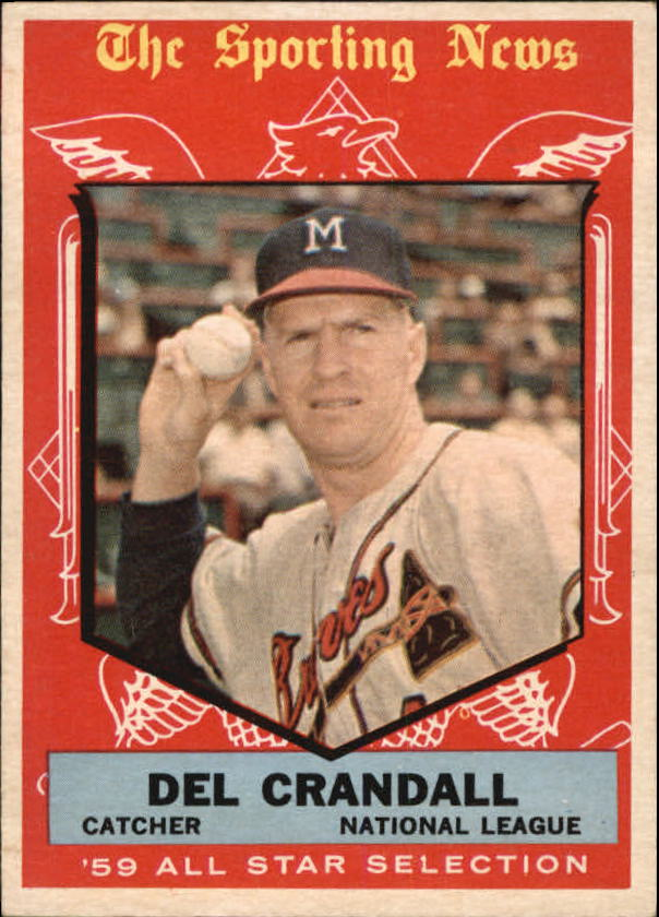 1959 Topps #567 Del Crandall AS