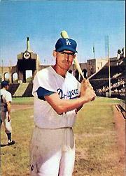 1960 Dodgers Morrell #7 Wally Moon
