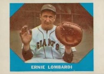 1960 Fleer #17 Ernie Lombardi