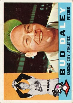 1960 Topps #8 Bud Daley