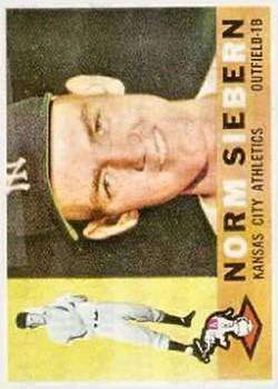 1960 Topps #11 Norm Siebern