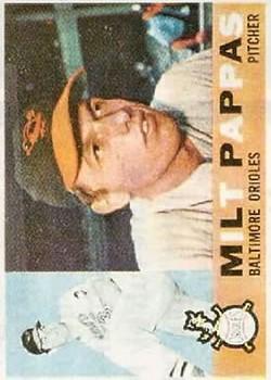 1960 Topps #12 Milt Pappas