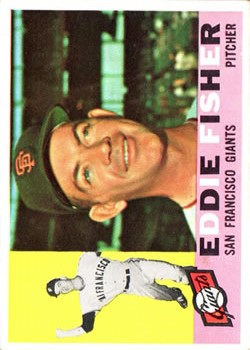 1960 Topps #23 Eddie Fisher RC