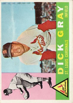 1960 Topps #24 Dick Gray